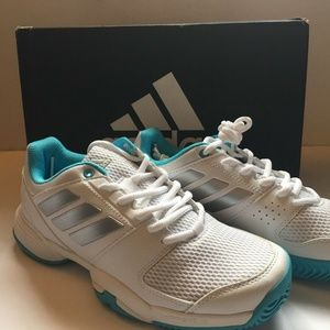 Adidas Barricade Club XJ Womens Tennis Shoes 5 1/2